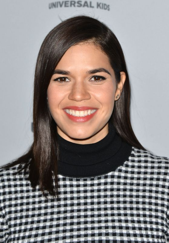 America Ferrera – NBCUniversal Holiday Kick Off Event in LA 11/13/2017
