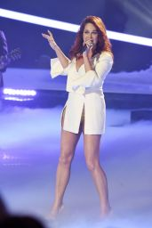 Andrea Berg Performs Live at Stars und Storys 2017 in Suhl 11/24/2017