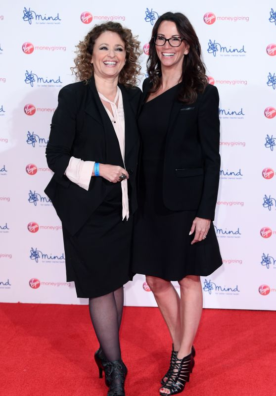 Andrea McLean and Nadia Sawalha – Virgin Money Giving Mind Media Awards 2017 in London