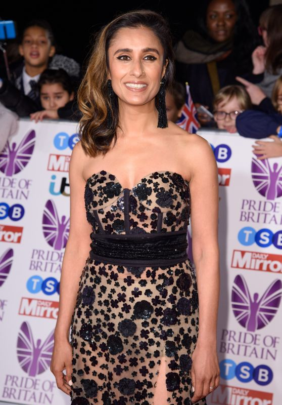 Anita Rani – Pride of Britain Awards 2017 in London