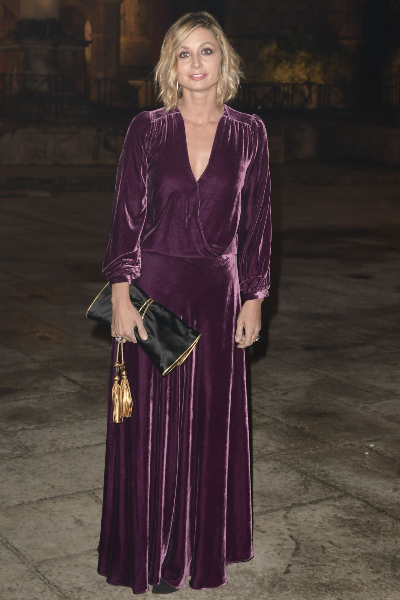 """Anna Ferzetti – """"Every child is my Child"""" Charity Dinner in Rome 11/03/2017"""
