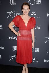 Anna Schafer – HFPA and InStyle Celebrate Golden Globe Season in Los Angeles 11/15/2017