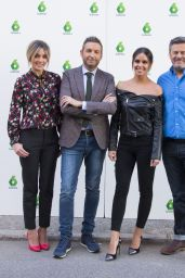 "Anna Simon and Cristina Pedroche - ""Zapeando"" TV show 1000th Episode Photocall in Madrid"