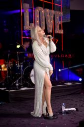 Anne-Marie – CLUB LOVE For The Elton John AIDS Foundation In Association With BVLGARI in London