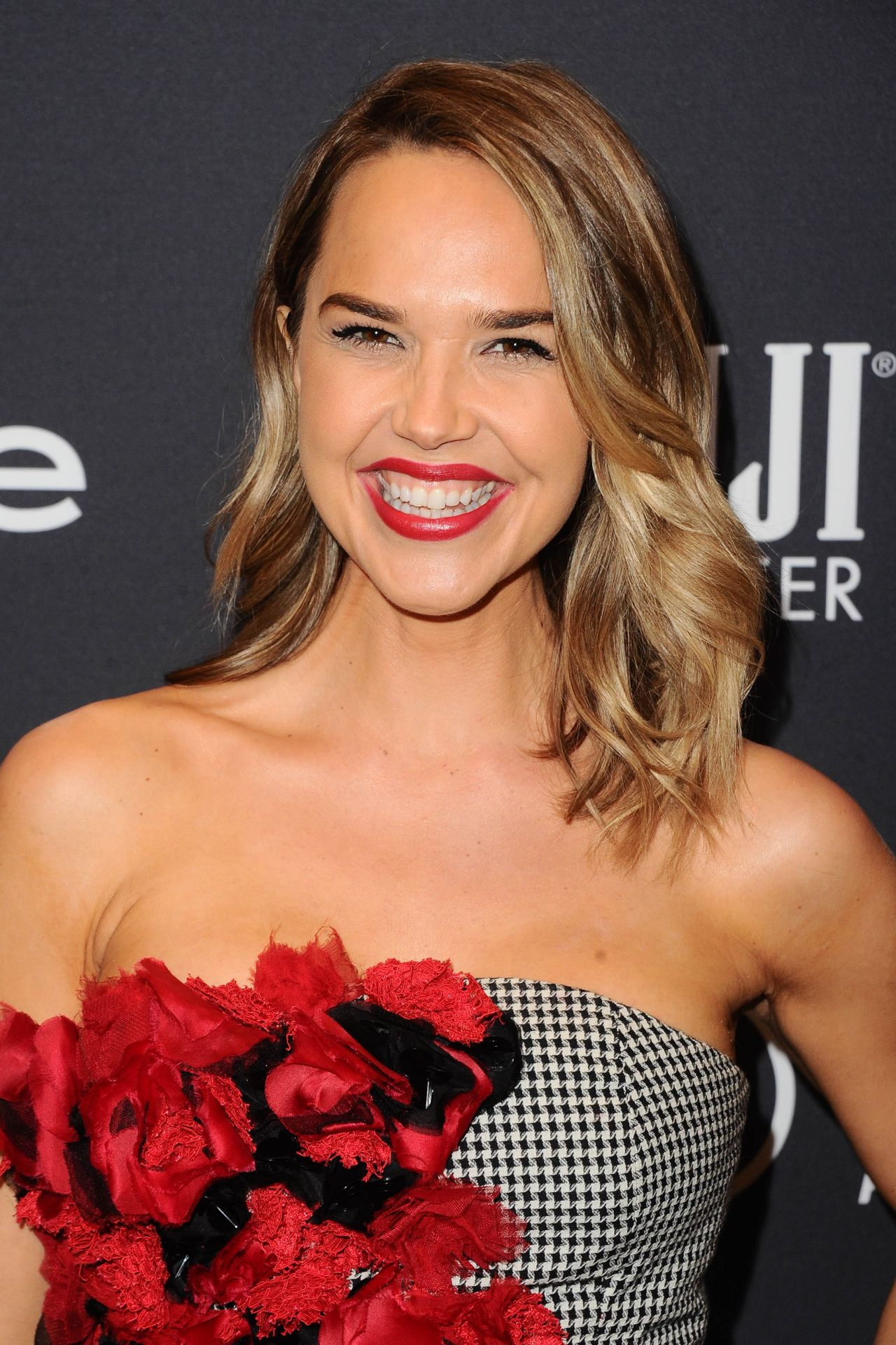 Arielle kebbel hfpa and instyle celebrate golden globe season in los angeles new photo