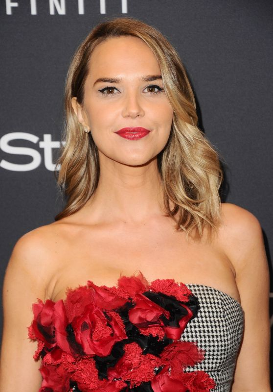 Arielle Kebbel – HFPA and InStyle Celebrate Golden Globe Season in Los Angeles 11/15/2017