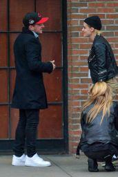 Ashley Benso, Kristen Stewart, Stella Maxwell and Josh Hutcherson - Out in NYC 11/15/2017
