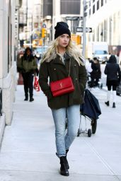 Ashley Benson Autumn Ideas - Out in NYC 11/13/2017