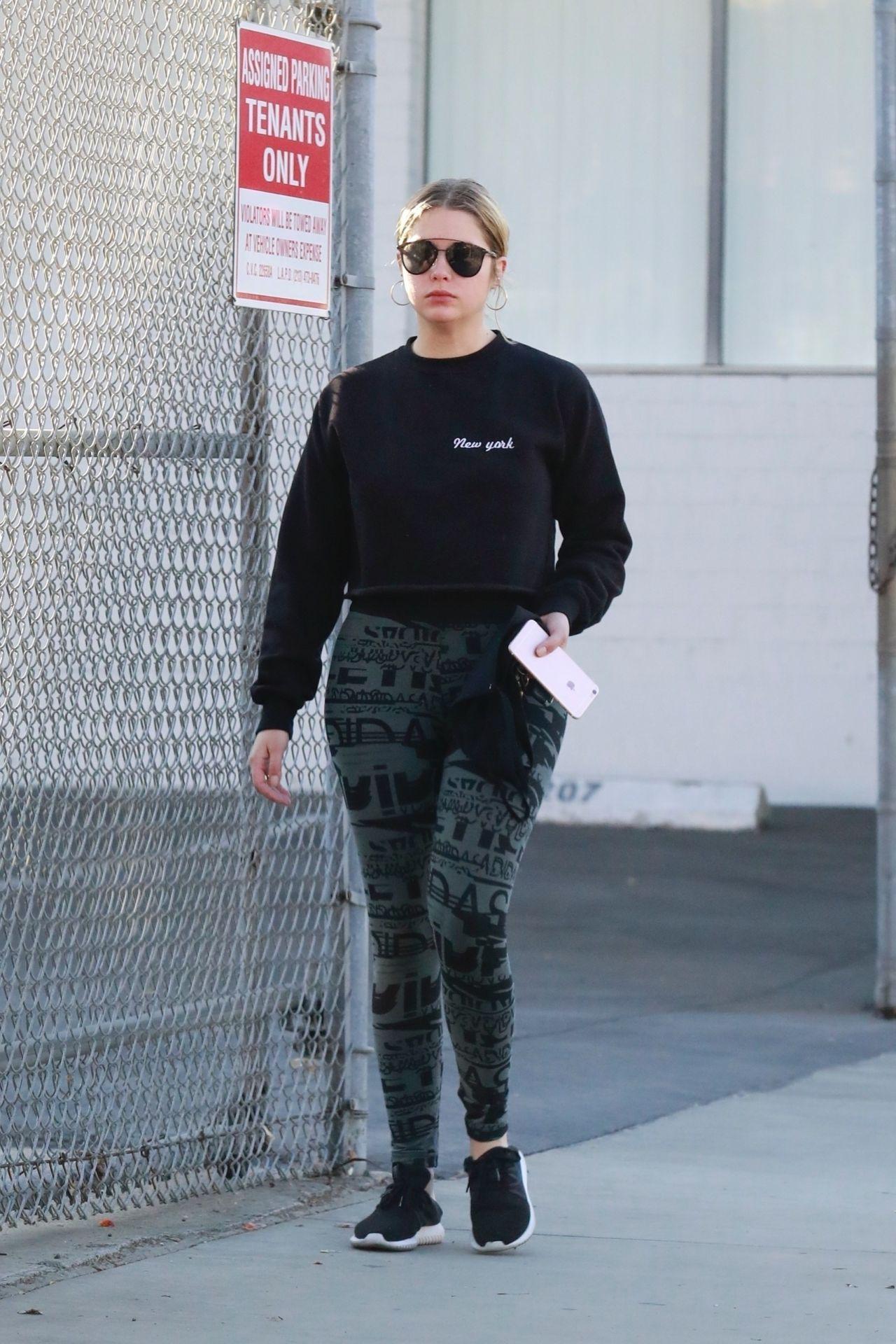 Ashley Benson Street Style - LA 11/25/2017
