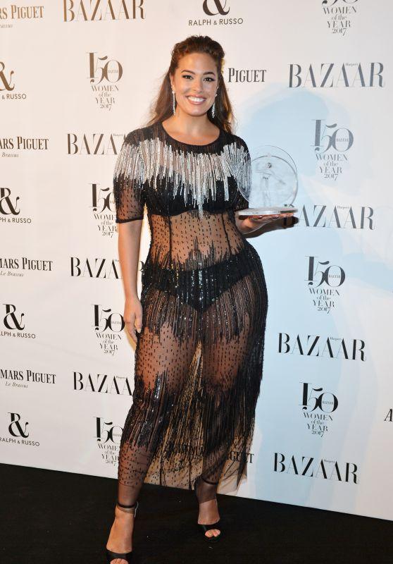 Ashley Graham – Harper's Bazaar Woman of the Year Awards 2017 in London