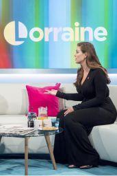 Ashley Graham - Lorraine TV Show in London 11/02/2017