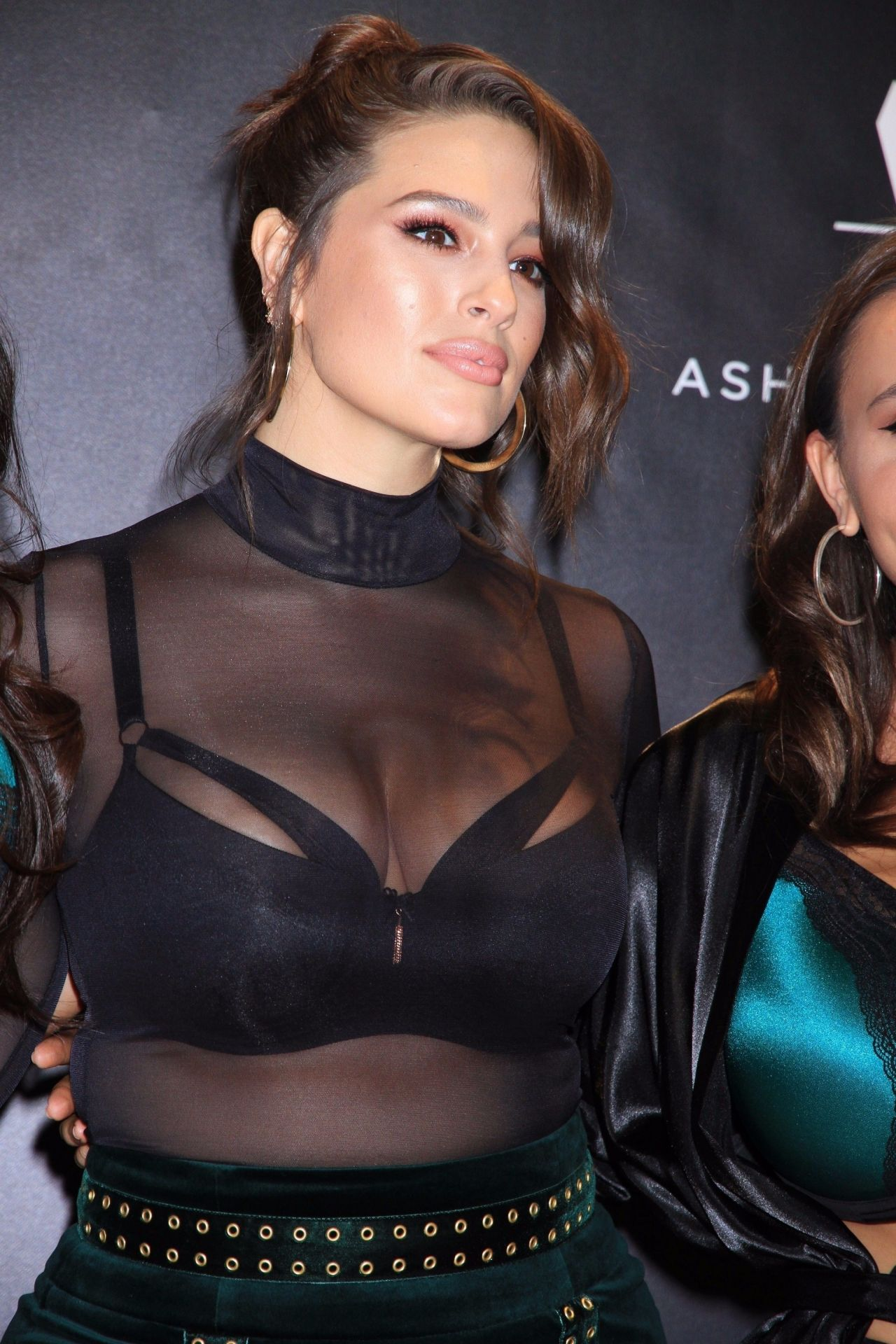 Ashley Graham Macy S Lingerie Collection Launch In Las Vegas