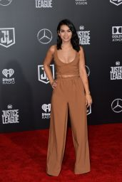 "Ashley Iaconetti – ""Justice League"" Red Carpet in Los Angeles"
