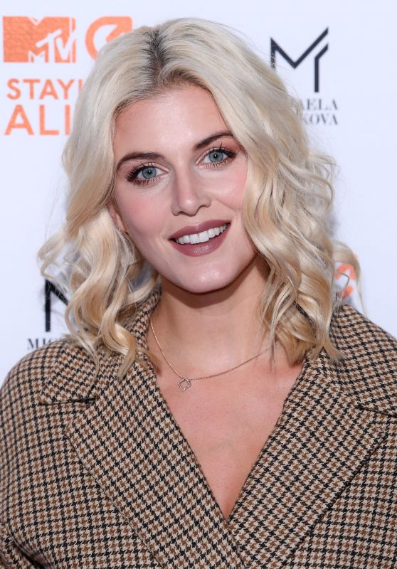 Ashley James - MTV Staying Alive Gala at 100 Wardour Street in London 11/08/2017