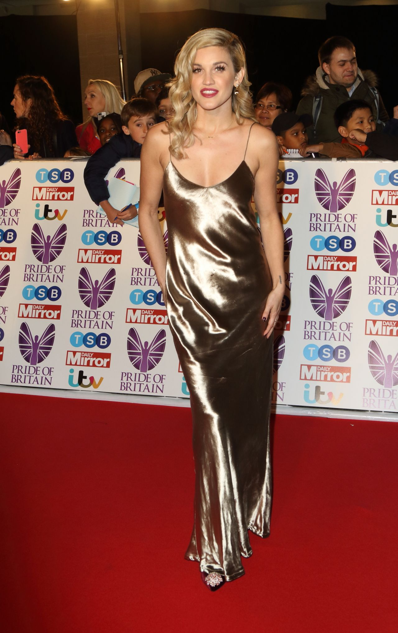 Ashley Roberts Pride Of Britain Awards 2017 In London