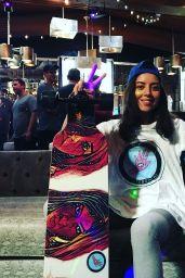 Aubrey Plaza - Social Media, November 2017