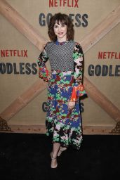 """Audrey Moore – """"Godless"""" Premiere in New York 11/19/2017"""