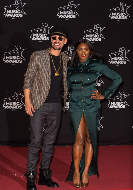 Awa Imani – 2017 NRJ Music Awards Ceremony in Cannes