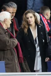 Barbara Palvin - PSG vs Nantes Soccer Game in Paris 11/18/2017