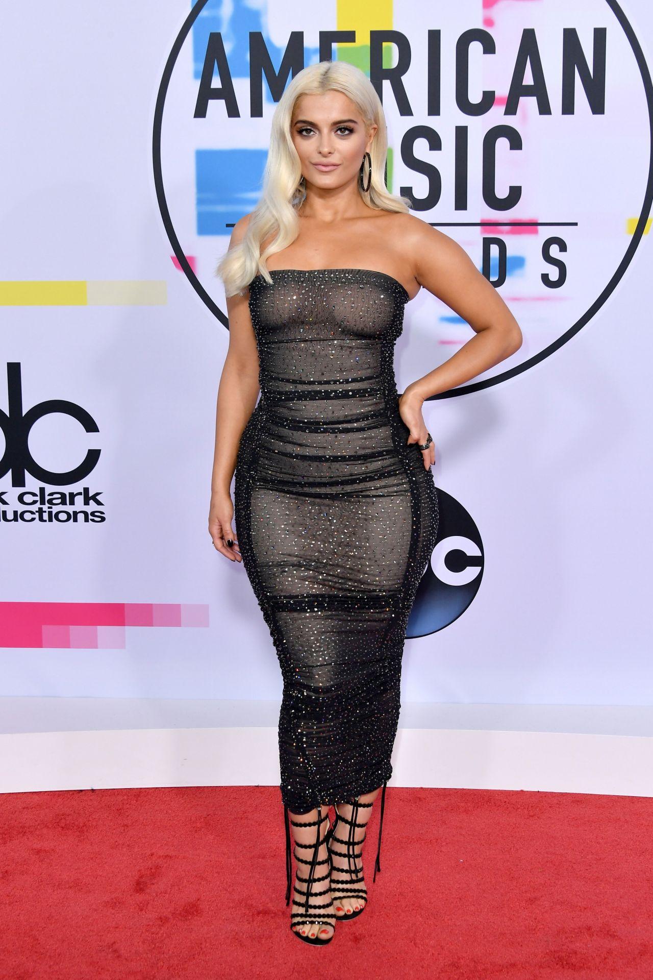 Bebe Rexha – American Music Awards 2017 in Los Angeles