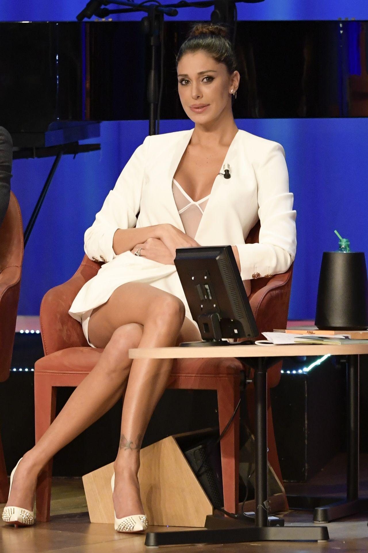 Belen Rodriguez Maurizio Costanzo Show In Rome 11 22 2017