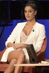 Belen Rodriguez - Maurizio Costanzo Show in Rome 11/22/2017