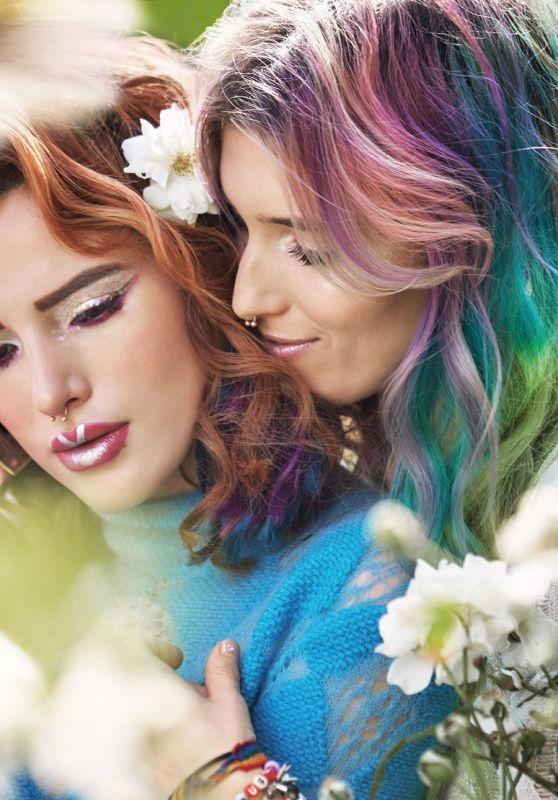 Bella and Dani Thorne – Paper Magazine December 2017 Photos
