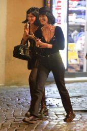Bella Hadid - Celebrates Halloween in Rome, Italy 11/01/2017