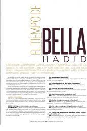 Bella Hadid - Ocean Drive Magazine Venezuela December 2017/ January 2018 Issue