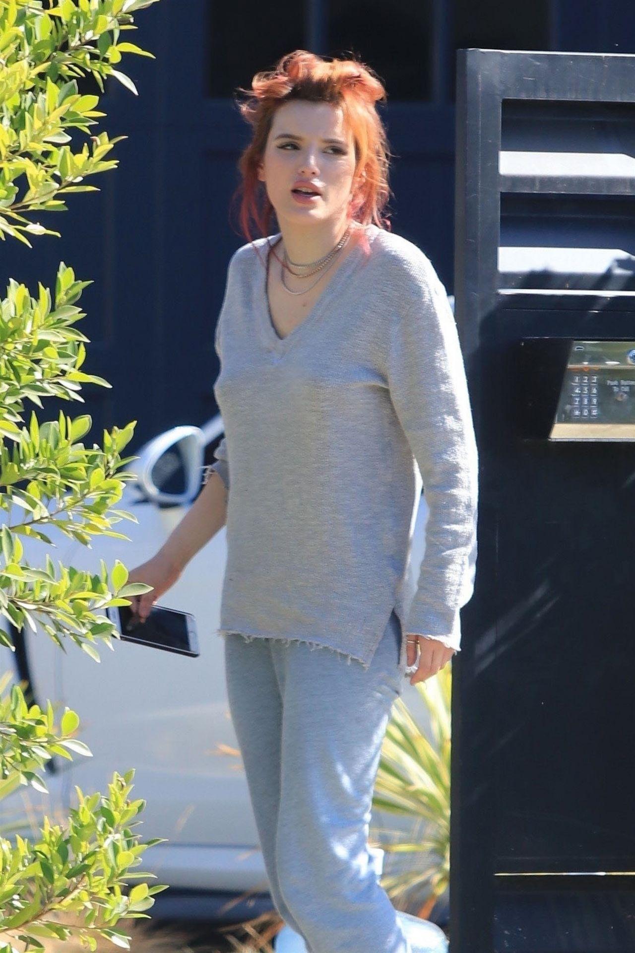 Bella Thorne Arriving Home In Studio City 11 06 2017