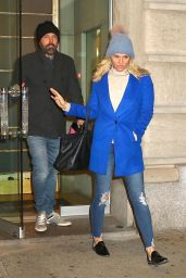 Ben Affleck With His Girlfriend Lindsay Shookus at Mr. Chow in New York City, November 2017