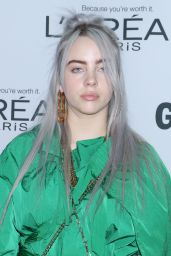 Billie Eilish – Glamour Women of the Year 2017 in New York City