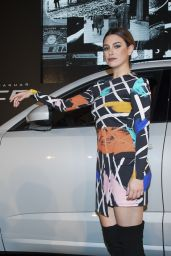 Blanca Suarez Presents the New Jaguar E-PACE in Madrid 11/25/2017