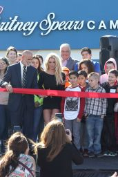 Britney Spears - Nevada Childhood Cancer Foundation Britney Spears Campus Grand Opening 11/04/2017