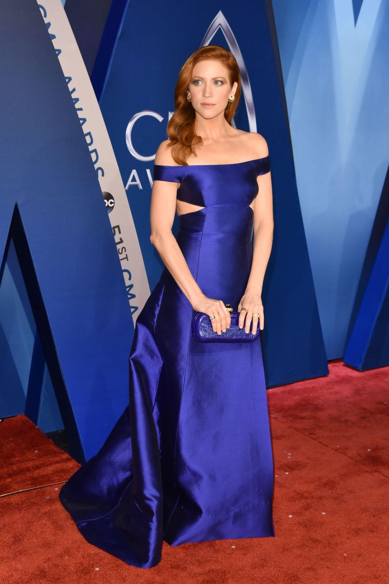 Brittany Snow – CMA Awards 2017 in Nashville
