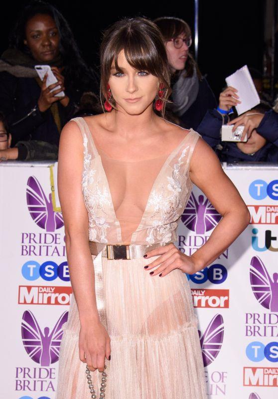 Brooke Vincent – Pride of Britain Awards 2017 in London