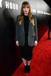 "Bryce Dallas Howard – ""Darkest Hour"" Premiere in Los Angeles"