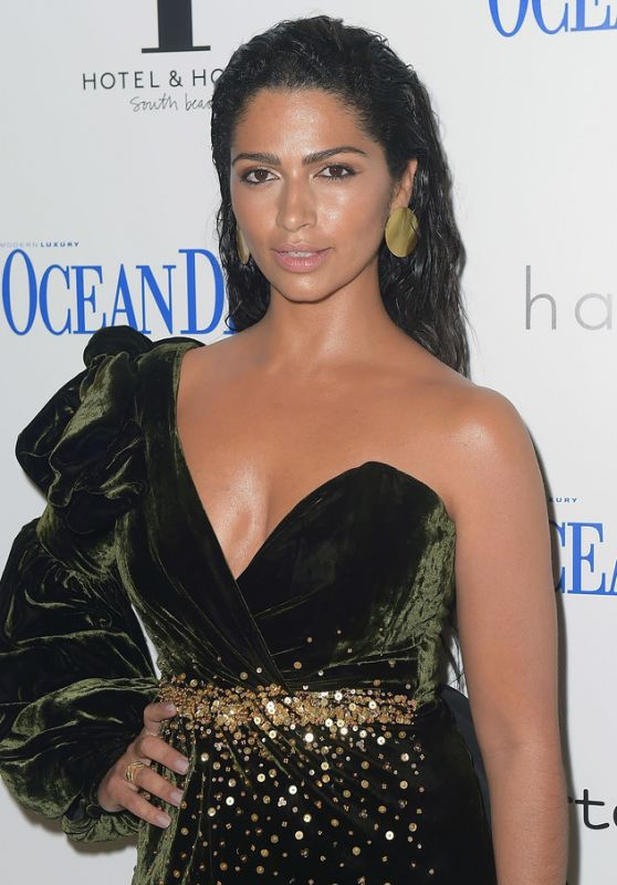 Camila Alves - Ocean Drive Magazine Celebrates the November Cover in Miami 11/09/2017