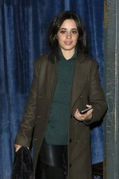Camila Cabello - Leaves Balans Soho Society Restaurant in London 11/13/2017
