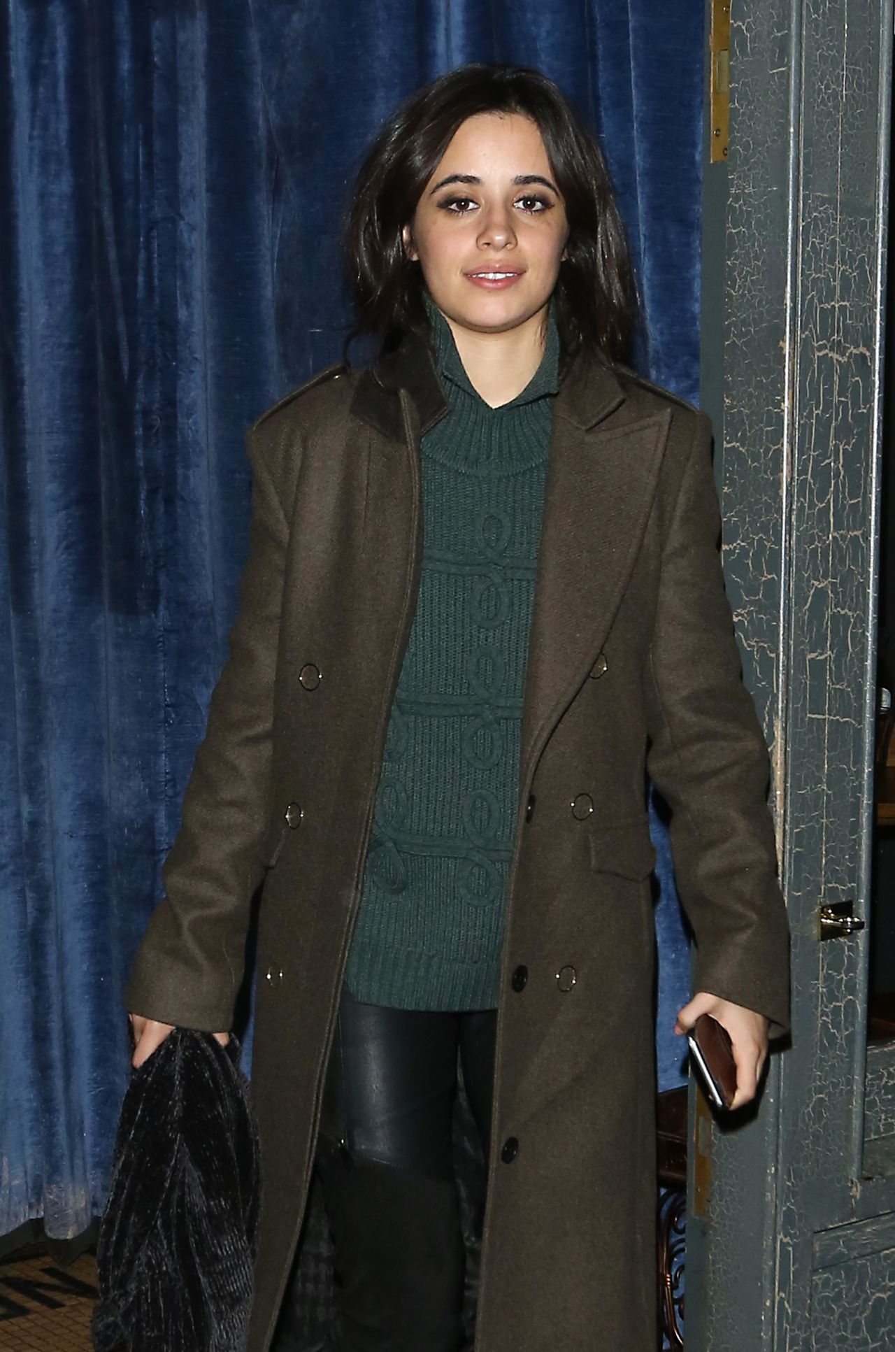 Camila Cabello - Leaves Balans Soho Society Restaurant in London 11/13/2017