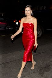Camilla Belle in a Red Dress - Dream Hotel in Hollywood 11/15/2017