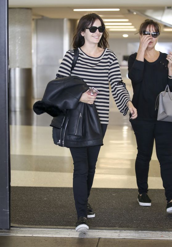 Camilla Belle With Her Mother - LAX Airport in Los Angeles 11/13/2017