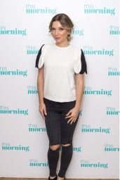 Candice Brown - This Morning TV Show in London 11/02/2017