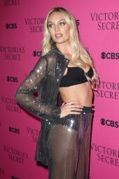 Candice Swanepoel – 2017 VS Fashion Show Viewing Party in NYC