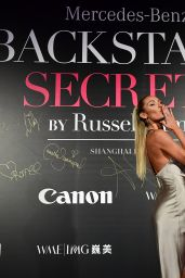 "Candice Swanepoel – Mercedes-Benz ""Backstage Secrets"" in Shanghai 11/18/2017"