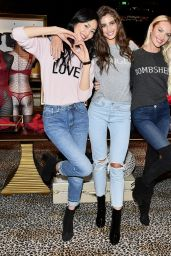 Candice Swanepoel, Taylor Marie Hill and Liu Wen - Victoria
