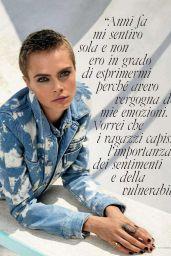 Cara Delevingne - ELLE Magazine Italy December 2017 Issue
