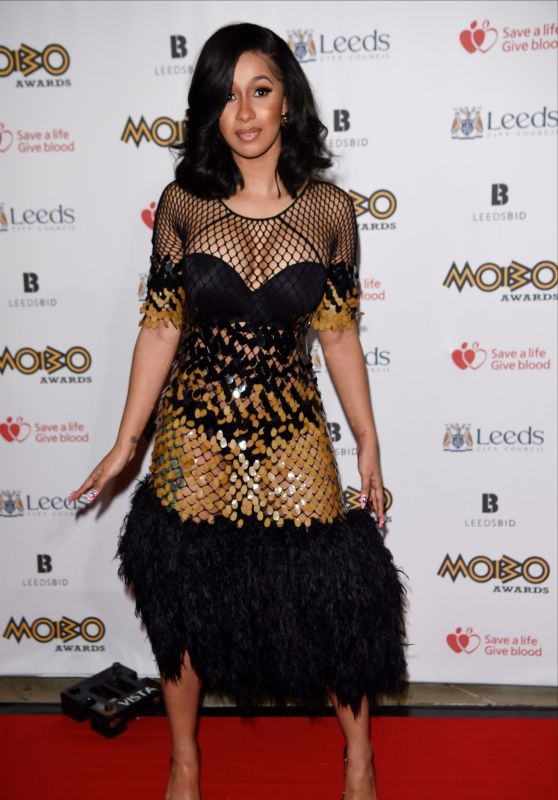 Cardi B – MOBO Awards 2017 in Leeds