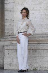 """Carlotta Natoli - """"Amori Che Non Sanno Stare al Mondo"""" Photocall in Rome"""
