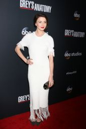 "Caterina Scorsone – ""Grey's Anatomy"" 300th Episode Celebration in LA"